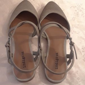 indigo rd Shoes - Size 6.5 Indigo rd. Sling Back Sandals